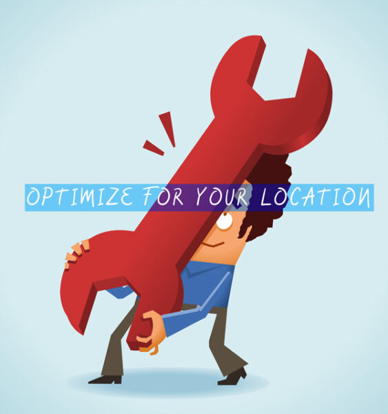 Adjust your website to attract local customers